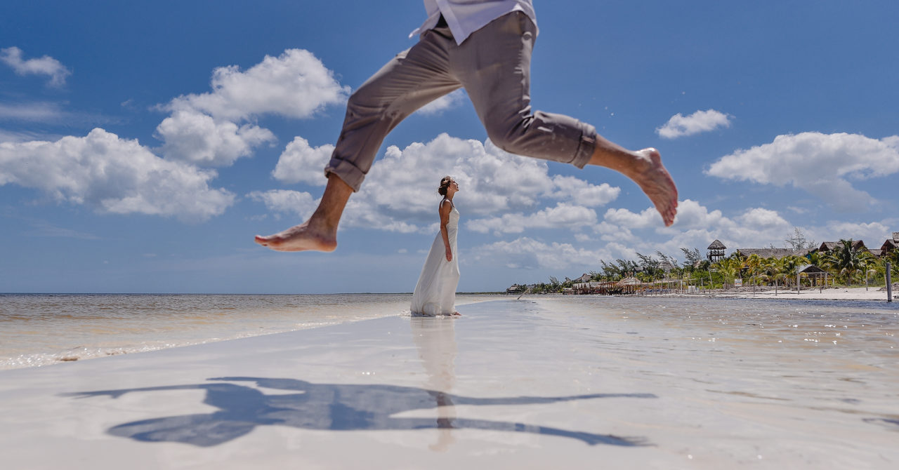 Trash the dress, holbox
