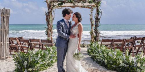 Playa del Secreto Wedding | Adriana y Carlos
