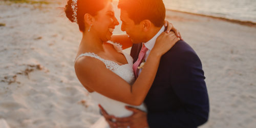 Yaz & Frank - Technotel Beach Wedding