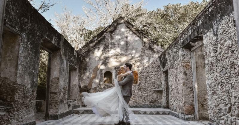 Margot & Stuart - Boda Hacienda Itzincab de Cámara