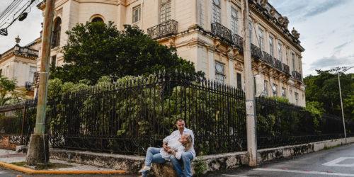Chini y Ricardo - Sesión casual en Mérida